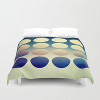 introvert Duvet Covers featuring Introvert/Extrovert - 2 by Elisabeth Fredriksson