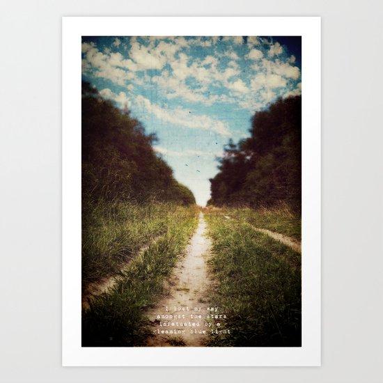 the long road home Art Print