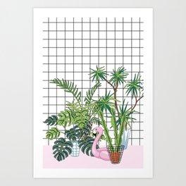 room plants Art Print