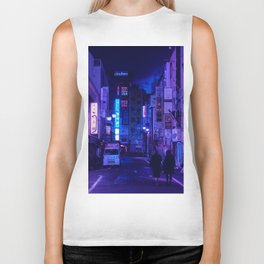 Tokyo Nights / Red Light District / Liam Wong Biker Tank