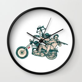 TWD_daryl dixon and rick grimes Wall Clock