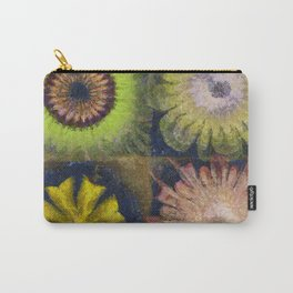 Methylator Structure Flowers  ID:16165-011604-36970 Carry-All Pouch