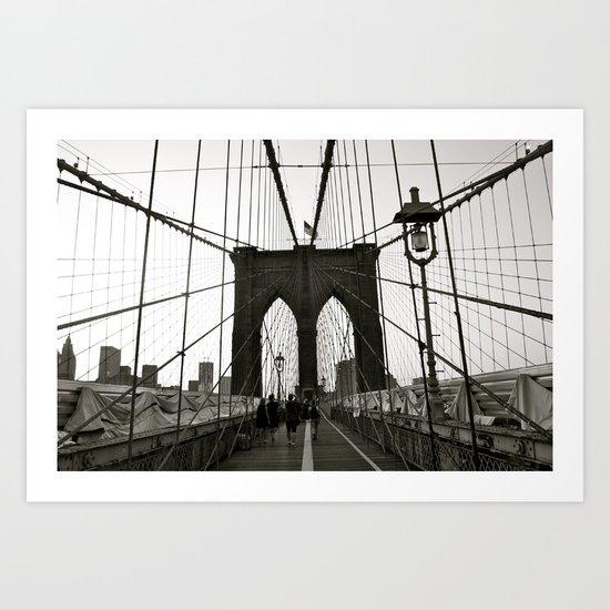 tied down Art Print