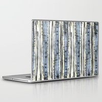 birch Laptop & iPad Skins featuring Birch by Sand Salt Moon