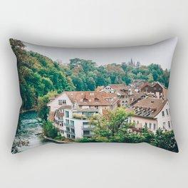Treetops   Bern, Switzerland Rectangular Pillow