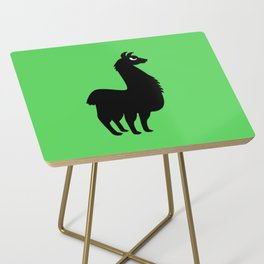 Angry Animals: llama Side Table