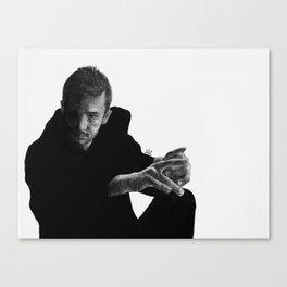 dark side of tyler Canvas Print