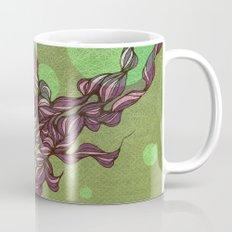 Waves #3 green Mug