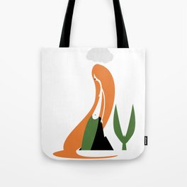 11:30 Rain Shower Tote Bag