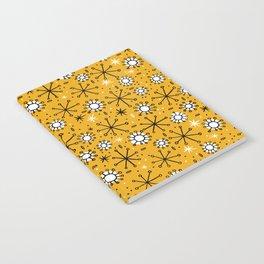 Mid Century mustard Notebook