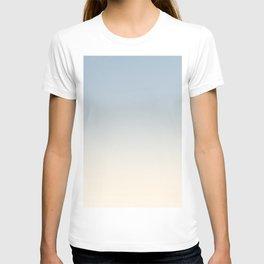 IVORY BONES - Minimal Plain Soft Mood Color Blend Prints T-shirt