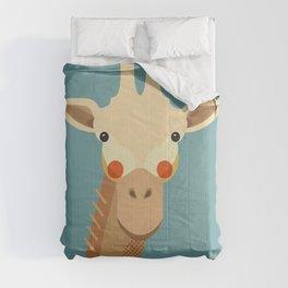 Giraffe, Animal Portrait Comforters