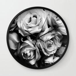 Roses Squad Goals Wall Clock