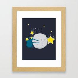 Star Harvester Framed Art Print