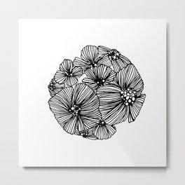 flowers ball Metal Print