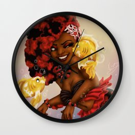 Kiss The Girl Wall Clock