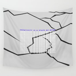 Creativity Mind Wall Tapestry