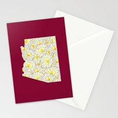 Arizona in Flowers Stationery Cards