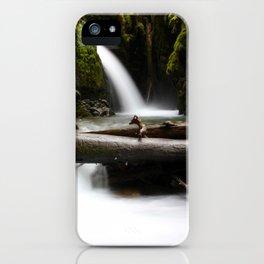 Silken Falls iPhone Case