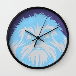 Shih Tzu Stare Wall Clock