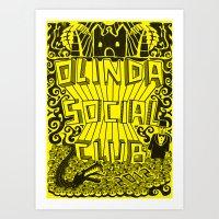 Olinda Social Club Art Print