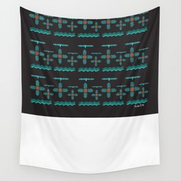 Albuquerque Turquoise Wall Tapestry