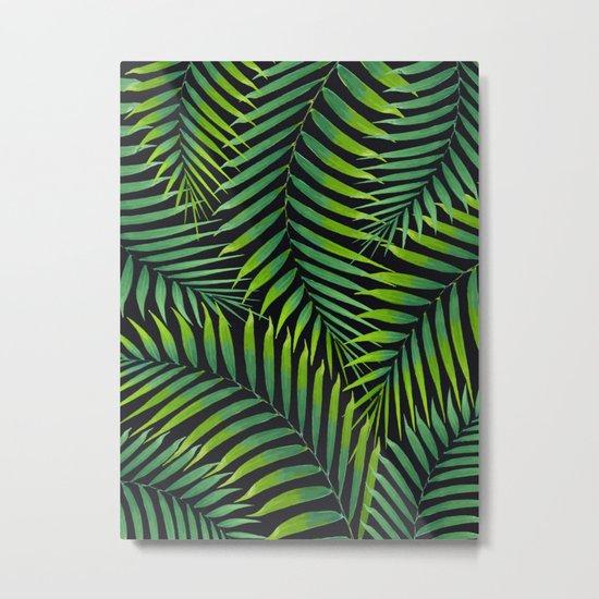Palm leaves VII Metal Print