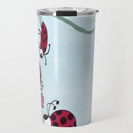 Ladybug Professing His Love Travel Mug
