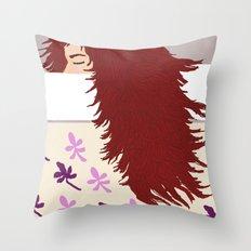 the sleeper Throw Pillow
