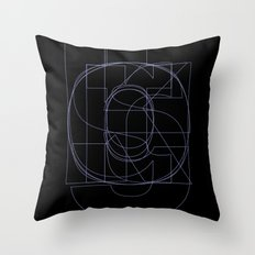 Die Neue Haas Grotesk (B-03) Throw Pillow