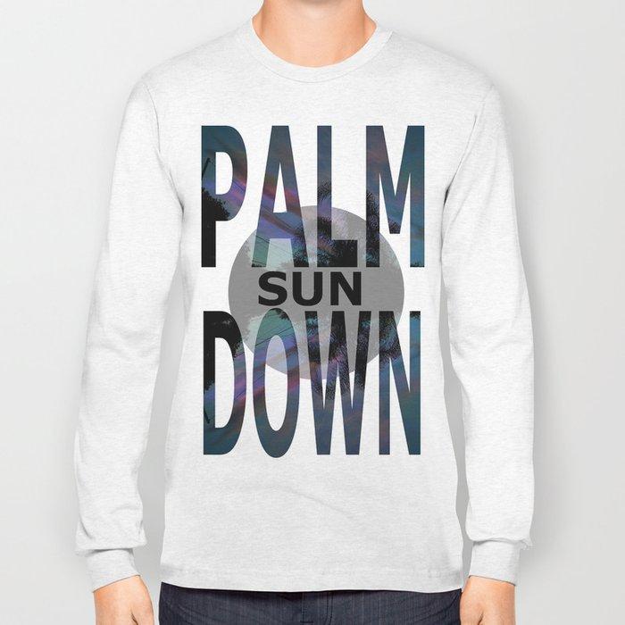 Palm Sun Down Long Sleeve T-shirt