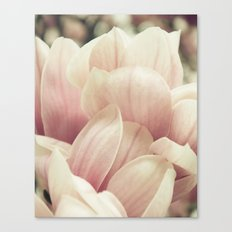 A Waterfall of Blooms Canvas Print