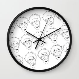 Some of Facial Expressions Wall Clock