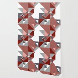 Triangle Shapes Deco Wallpaper