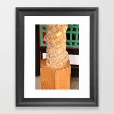 Roping Framed Art Print
