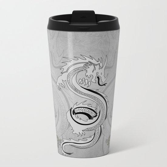 Chinese dragon Metal Travel Mug