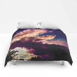 Mysterious Clouds Comforters