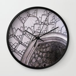 Arched Ceilings Wall Clock