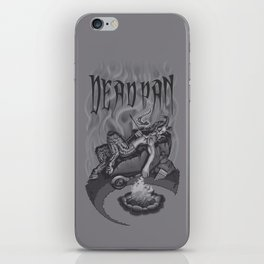 DEADPAN iPhone Skin
