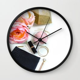 Hues of Design - 1031 Wall Clock
