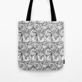 Flowing Lines Tote Bag