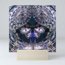 crystal butterfly Mini Art Print