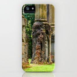 Windsor Ruins Columns iPhone Case