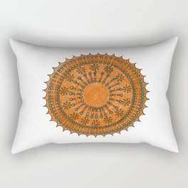 Vesicle Mandala 01 Rectangular Pillow