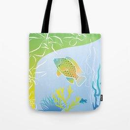 Sea Something Fishy Tote Bag