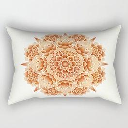 Oxide Lotus Mandala Rectangular Pillow