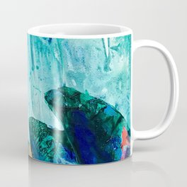 Bright Ocean Spaces, Tiny World Collection Coffee Mug