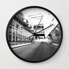 Forward Motion Wall Clock