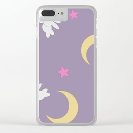 Serena Duvet Clear iPhone Case
