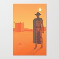 The Desert Canvas Print